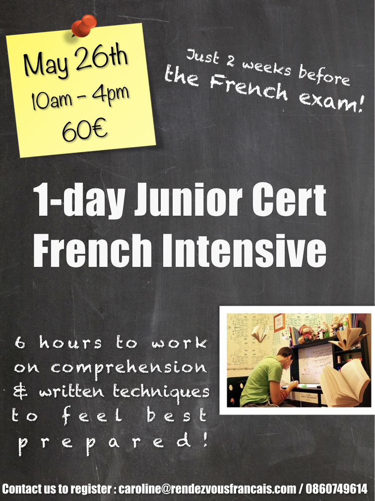 1-day junior cert intensive - 2018.001