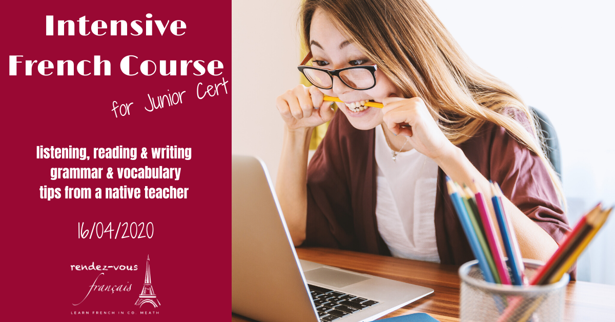 Junior Cert Intensive French Course