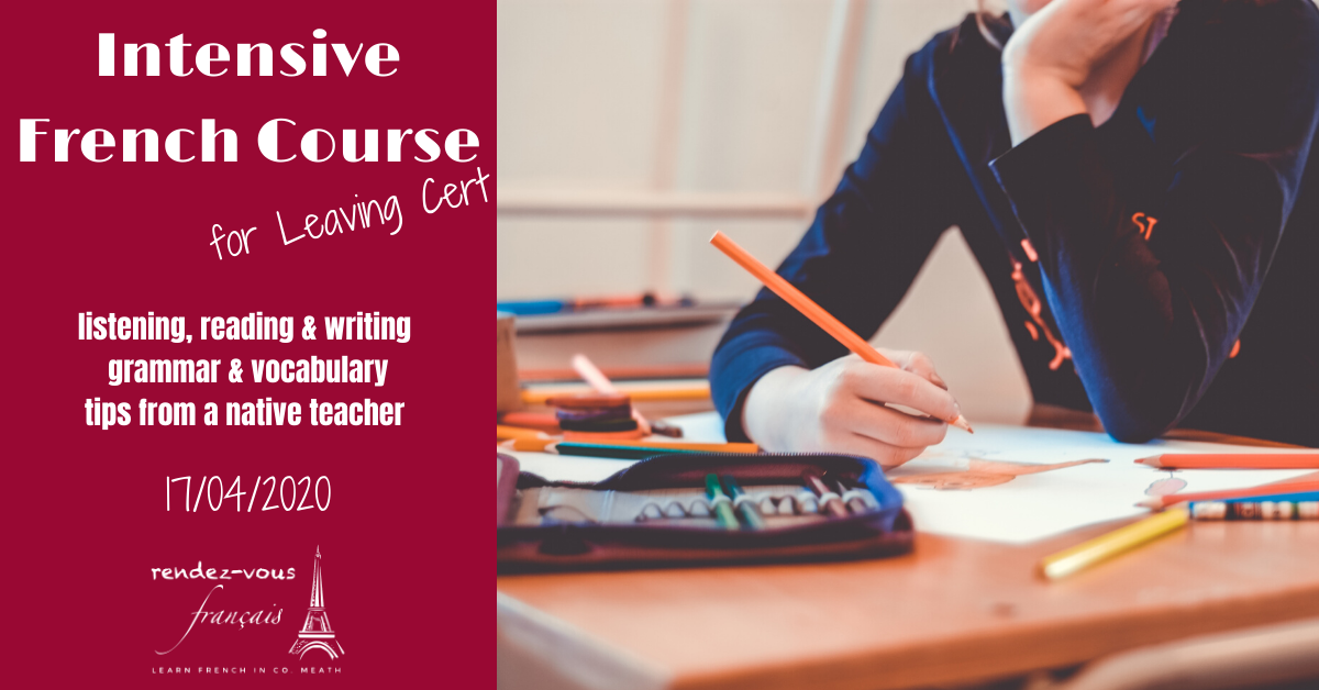 French Leaving Cert Intensive Course